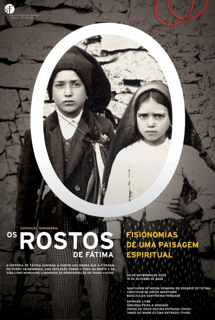 Os rostos de Fátima: fisionomias de uma paisagem espiritual Exposição  Temporária do Santuário de Fátima | Agenda | Rede Cultura 2027 Leiria