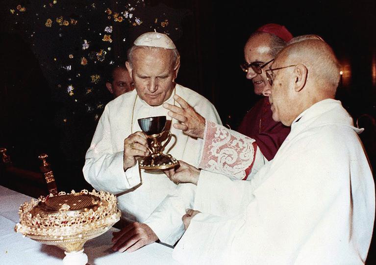 Juan Pablo II en la Catedral ~ Catedral de Valencia