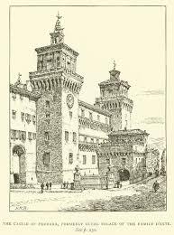 El Castillo de Ferrara, antiguo Palacio Ducal de l...